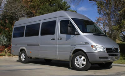 Luxury transportation in Marble Falls, TX